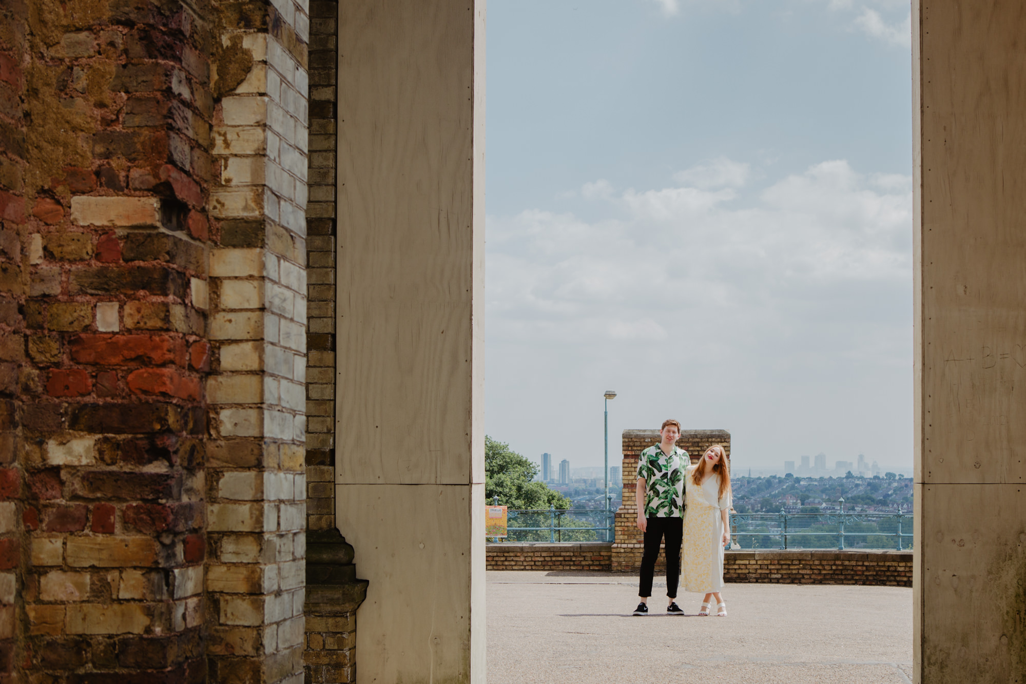 Alexandra Palace Engagement Shoot
